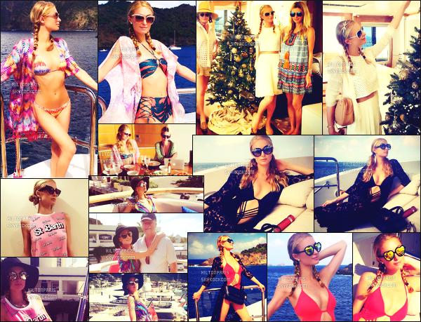 ---------  Voici les photos de Paris Hilton sur les réseaux sociaux en vacance à St Barth avec sa famille.  Vous pouvez la suivre sur son Snapchat ~ RealParisHilton. Photos de Paris Hilton, elle a fait beaucoup de photos lors de ses vacances.  ---------