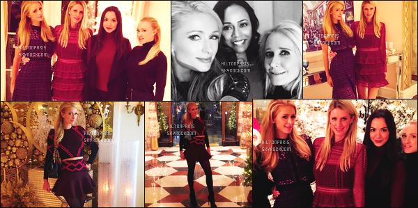 ---------  Découvrez les photos de mlle Paris Hilton sur les réseaux sociaux fêtant noël avec sa famille.  Vous pouvez la suivre en directe sur son Snapchat ~ RealParisHilton. Photos de Paris avec sa famille, elle est belle avec Nicky j'adore.  ---------