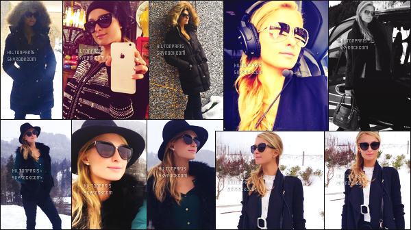 ---------  Découvrez les photos de mlle Paris Hilton sur les réseaux sociaux en Suisse chez Thomas.  Vous pouvez la suivre sur son Snapchat ~ RealParisHilton. Photos de Paris, en Suisse entre shopping et séance photos dans la neige.  ---------