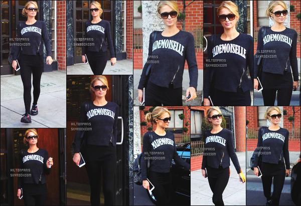 ------- 21/01/16: Notre jolie Paris  Hilton   photographiée dans la journée  en balade dans les rues de Beverly Hills seule. J'aime beaucoup les photos, Paris a un leger sourire, toujours souriant face au paparazzis, j'aime cette tenue simple tous comme son pull.   -------