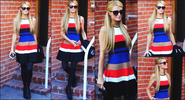 --------  16/03/16 :   Paris Hilton photographiée dans la journée entrain de faire du shopping  seule - à  Beverly Hills.  Gros top pour la tenue je suis assez fan de cette tenue meme si c'est du deja vue c'est tout à fait son style & c'est toujours un plaisir de voir.  --------