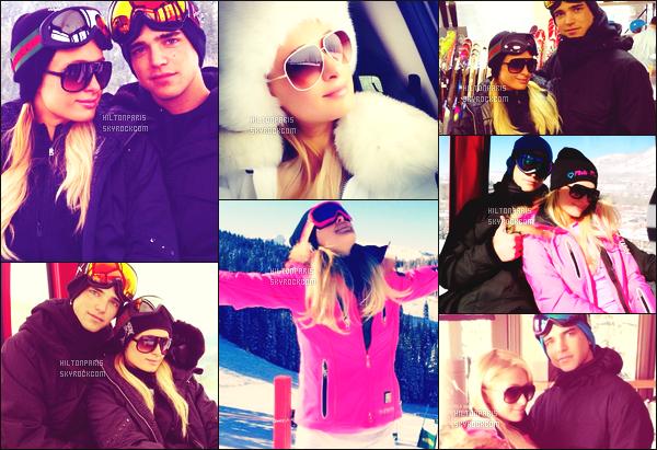 """--------------------------------------  """"""""RESEAUX SOCIAUX"""""""" Découvrez les dernières photos de mlle Paris toujours  actif sur Instagram ou Snapchat. Decembre 2012 -   Quelques photos de la princesse Paris Hitlon en vacance à la neige à Aspen. Elle est trop belle de partout. J'adore. --------------------------------------"""