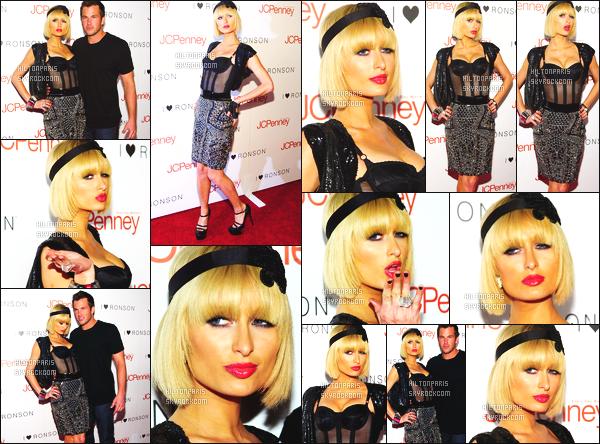------- 03/04/09:  Princesse Paris Hilton photographiée [/g ]  à l'événement « I Heart Ronson » dans la soirée - à Los Angeles.  Notre merveilleuse Paris Hilton est top dans cette tenue, je suis fan de la tenue, qui fait femme. Elle est accompagnée de Doug Reinhardt. -------