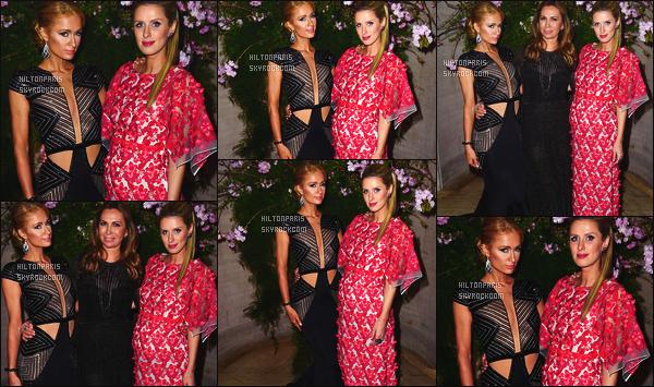 ------- 12/04/16: La jolie  Paris Hilton photographiée au gala de Fighting Blindness World avec Nicky Hilton -  New York. Elle est accompagnée de sa soeur Nicky. Elle est belle Paris, je suis tres amoureuse de cette longue robe, tres sexy. Gros top pour la tenue.      -------