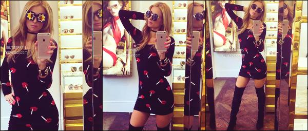 """--------------------------------------  """"""""RESEAUX SOCIAUX"""""""" Découvrez les dernières photos de mlle Paris toujours  actif sur Instagram ou Snapchat. Mai 2016 -   Photos de Paris Hilton, accompagné de ses fans chanceux. Elle porte une courte, moulante robe Moschino, j'aime beaucoup ! --------------------------------------"""