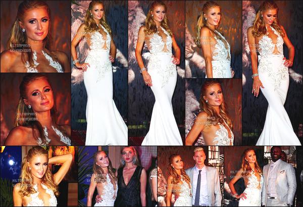 ------- 16/05/16: Notre jolie  Paris Hilton photographiée   au gala de  The Heart Fund Generous dans la soirée -  Cannes. Je suis super amoureuse de la robe. Cette robe est vraiment  magnifique. Gros top pour cette coiffure simple de princesse Paris Hilton.   -------