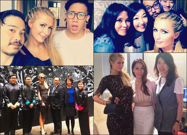 """--------------------------------------  """"""""RESEAUX SOCIAUX"""""""" Découvrez les dernières photos de mlle Paris toujours  actif sur Instagram ou Snapchat. Juin 2016 -   Photos de Paris Hilton vue lors d'un meeting et avec ses assistants, j'adore beaucoup les cheveux de Paris tiré en tresse. --------------------------------------"""