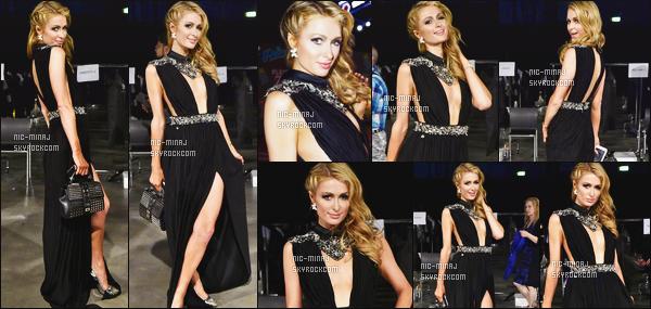 ------- 18/06/16:  Notre sublime Paris  Hilton photographiée  mixant à l'after de l'événement Mens Fashion Week   - Milan Les photos sont trouvé sur Instagram. Puis aussi vue dans la journée au defilé avec des fans et artistes. J'adore beaucoup la robe ultra sexy. -------