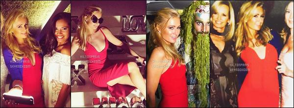 """--------------------------------------  """"""""RESEAUX SOCIAUX"""""""" Découvrez les dernières photos de mlle Paris toujours  actif sur Instagram ou Snapchat. Juin 2016 -     Paris Hilton lors d'une soirée entre amis à Ibiza. J'adore beaucoup cette petite robe rouge dommage peu de photos en HD. --------------------------------------"""