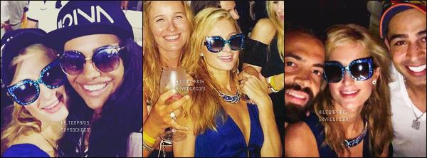 """--------------------------------------  """"""""RESEAUX SOCIAUX"""""""" Découvrez les dernières photos de mlle Paris toujours  actif sur Instagram ou Snapchat. Juin 2016 -   Paris Hilton lors du concert d'Avicii, elle est accompagnée de ses amis aussi. Dommage qu'on ne voit pas la tenue entiére. --------------------------------------"""
