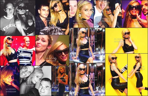 ------- 12/09/16:    Paris Hilton photographiée  assistant à la grande soirée The Shot avec Nicky et des amis - à  New York.  Gros top pour la tenue à Paris, j'aime  trop  la petite tenue, et j'adore trop ses cheveux lisse comme ca, mis sur le côté elle est top. Top/Flop ? -------