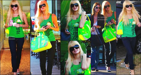 --------  09/1106  :     Jolie Paris Hilton photographiée  dans la journée entrain de faire du shopping  -  à Los Angeles.   Elle est accompagnée de sa petite soeur Nicky Hilton, j'adore beaucoup cette tenue, son haut va super bien avec son sac à main. Top/Flop?--------