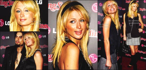 --------  03/10/06  :    Princesse Paris Hilton photographiée lors de l'événement    « The 2006 Hot List »  -  Los Angeles.   Elle est mignonne sur les photos et cette coiffure, on dirait une enfant, je suis tres fan. Mais flop pour les chaussures, je deteste. Top/Flop?--------