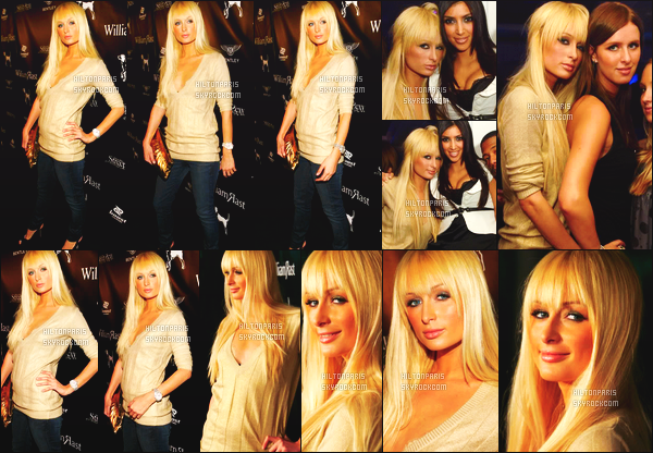 --------  17/10/06  :    Princesse Paris Hilton photographiée à l'after de la petite soirée     « Street Sexy »  à Los Angeles.    Alors la j'accorde un gros top pour la coiffure, elle va tellement bien sur Paris Hilton. Je suis fan aussi de se pull qui lui va bien. Top/Flop?--------