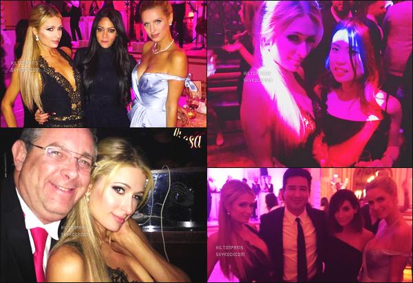 """--------------------------------------  """"""""RESEAUX SOCIAUX"""""""" Découvrez les dernières photos de mlle Paris toujours  actif sur Instagram ou Snapchat.  Octobre 2016 - Elle été à un mariage d'un ami à New York, elle est avec  Nicky Hilton,  j'adore les photos quand elles sont ensemble. --------------------------------------"""