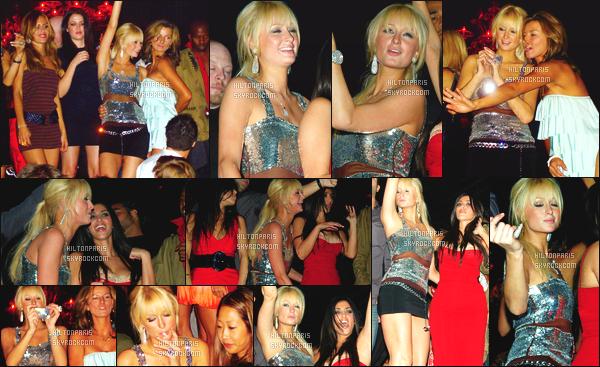 --------  21/10/06  :    Notre princesse Paris Hilton photographiée assistant à l'événement   « Tao's »  - à  Las Vegas.   Elle est accompagnée de ses amies le clan Kardashian. Gros top pour cette tenue & la coiffure simple et lisse, j'adore beaucoup. Top/Flop?--------