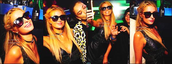 ------- 03/12/16: La magnifique  Paris Hilton photographiée  assistant à l'événement de  Art Basel dans la soirée - Miami. Petit top, je trouve que la robe la grossit un peu. Flop pour les bottines, je ne suis pas du tout fan.  Top ses longs cheveux blonde et lisse.    -------