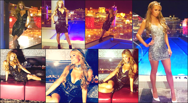 """--------------------------------------  """"""""RESEAUX SOCIAUX"""""""" Découvrez les dernières photos de mlle Paris toujours  actif sur Instagram ou Snapchat. Février 2017 - Paris lors de son petit séjour dans la grande ville Las Vegas. J'aime beaucoup toutes les robes qu'elle porte. Des gros tops. --------------------------------------"""