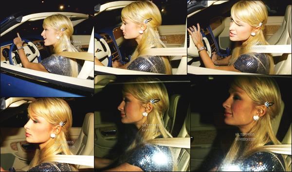 ------- 04/01/07 : Sublime Paris Hilton photographiée  arrivant/quittant    le tournage de Sexy à tout prix à Los Angeles. Petit top pour la tenue assez simple. J'aime beaucoup cette petite robe simple. Elle est toute belle la princesse Paris Hilton. Top pour le sac.   -------