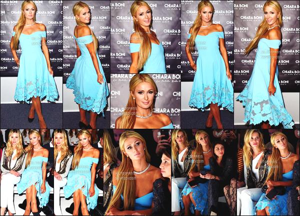 ------- 14/02/17:La jolie Paris Hilton  photographiée assistant à la Fashion Week de  Chiara dans la journée -   New York. Adorable Paris Hilton est tellement belle, elle se la joue classe et glamour. Gros top pour la  robe et la veste. J'aime bien ses lunettes de soleil. -------