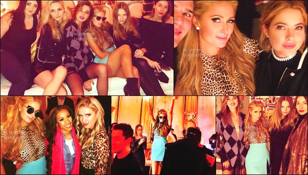 """--------------------------------------  """"""""RESEAUX SOCIAUX"""""""" Découvrez les dernières photos de mlle Paris toujours  actif sur Instagram ou Snapchat. Février 2017 - Photos de la jolie Paris Hilton lors de sa fête d'anniversaire le 17/02 dans son grand appartement à New-York. Elle est  top. --------------------------------------"""