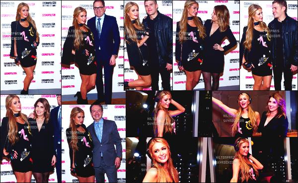 ------- 07/03/17: Notre princesse Paris Hilton photographiée sur le tapis rouge de la soirée The Standard - New York. Top pour la tenue on ne voit pas trop mais elle porte une petite robe assez courte. J'aime c'est tout à fais son style vraiment, top la veste. -------