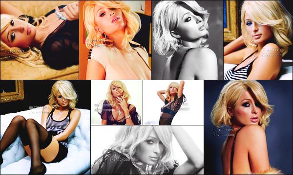 --------   • • Découvrez notre princesse Paris Hilton en shoot pour l'album  « CD Paris » - 2006  Paris Hilton est top dans se shoot, j'aime trop se shoot elle est tellement magnifique. Gros top.  J'adore beaucoup les tenues qu'elle porte.  --------
