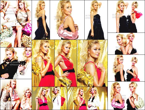 --------   • • Voici notre sublime Paris Hilton en shoot pour le magazine « Carlotta M » - 2006  Paris Hilton est top dans se shoot, j'aime trop se shoot elle est accompagnée de  Nicky Hilton.  J'adore beaucoup les tenues qu'elle porte.  --------