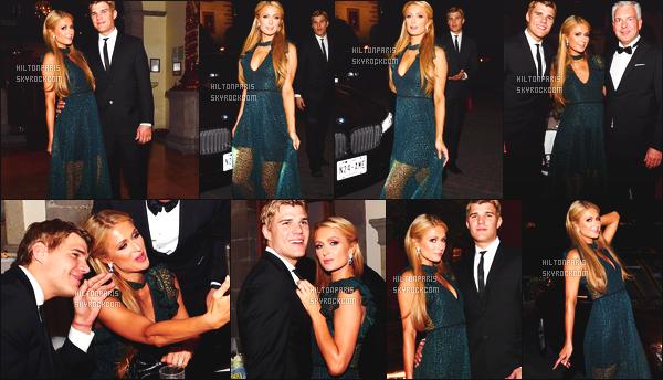 ------- 31/03/17: Sublime Paris Hilton  assistant au diner organisé par l'événement FIA Formula E avec Chris - Mexique. Gros top pour cette magnifique robe qui lui va vraiment bien, j'aime trop la couleur verte. Top pour ses cheveux et pour toutes les photos.   -------
