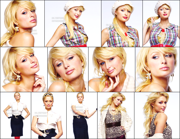 --------   • • Découvrez la princesse Paris Hilton en shoot pour le magazine « Bumber » - 2006  Paris Hilton est top dans se shoot, j'aime trop se shoot elle est tellement magnifique. Gros top.  J'adore beaucoup les tenues qu'elle porte.  --------