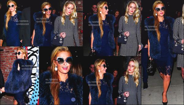 ------- 07/04/17:  Sublime Paris Hilton photographiée toute souriante allant à la soirée de TAO Beauty - à Los Angeles. Elle est accompagnée de sa petite soeur Nicky et de son petit ami Chris. Gros top pour cette magnifique robe. J'aime vraiment la veste. -------