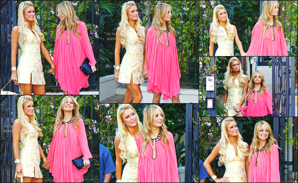 ------- 11/03/07 : La belle Paris Hilton photographiée  sur le tournage de la saison 5 de The Simple Life à Los Angeles.  Le celebre duo Nicole/Paris est de retour. J'aime beaucoup la robe. Elle est toute belle avec Nicole. Elles sont si adorable les deux ensemble.  -------