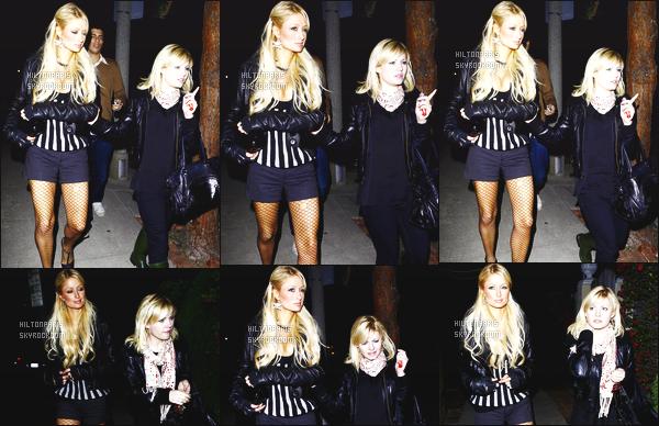 ------- 09/03/07 : Jolie Paris Hilton photographiée  en balade dans la soirée avec son ami  Elisha Cuthbert à Los Angeles. Petit top pour cette tenue. J'aime assez se style le petit short avec cette veste en cuire. J'adore beaucoup ses cheveux long laché. Bon top.  -------