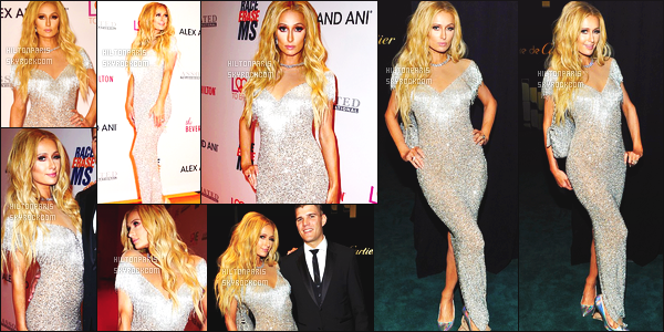 ------- 05/05/17: Notre sublime Paris Hilton   aperçue   au grand Gala de 24th Annual Race to Erase MS - à Beverly Hills. Paris est vraiment  belle dans la longue robe, elle est tellement sublime on dirait tellement une princesse, gros top pour les cheveux boucle.  -------