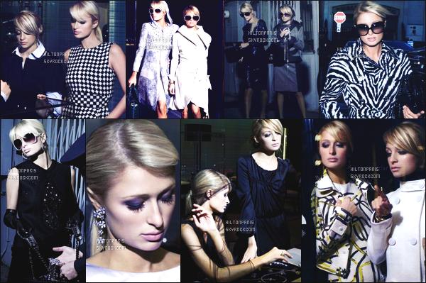 ----------- Découvrez Paris Hilton en shooting pour le magazine Harper's Bazaar   -  Avril 2007.   J'aime trop les photos, elle fait tellement femme classe et glamour. Pour se shooting elle est accompagnée de sa meilleure amie Nicole. -----------