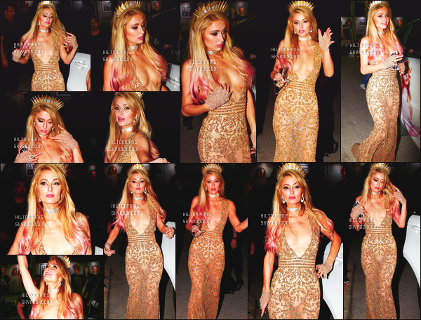 ------- 02/07/17:  La merveilleuse Paris Hilton  photographiée à la soirée de l'ouverture de Foam And Diamond - à  Ibiza. Je suis tres fan de cette tenue, cette longue robe dorée tres sexy lui va tellement bien sur la princesse Paris Hilton. J'adore ses cheveux. -------