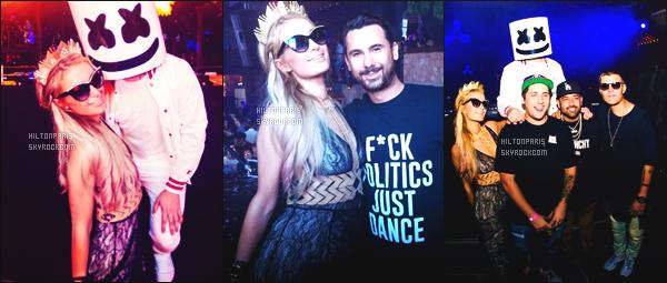 """--------------------------------------  """"""""RESEAUX SOCIAUX"""""""" Découvrez les dernières photos de mlle Paris toujours  actif sur Instagram ou Snapchat. Juillet 2017 -   Deux photos de notre princesse Paris dans une grande soirée à Ibiza dans la soirée dans la boite de nuit Amnesia. --------------------------------------"""