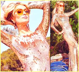--------   • • Découvrez notre sublime Paris Hilton en shoot pour le magazine « Fashion et Art »     Paris Hilton est trés actif cette année niveau shoot. J'adore beaucoup toute les photos, elle est  belle !  J'aime trop les tenues qu'elle porte.  --------