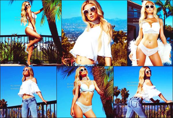 ---------   Découvrez les photos de notre jolie Paris Hilton pour sa ligne de vêtements - Septembre 2017.  J'aime tellement les photos. Paris nous envoie du lourd la. Je suis tres fan de sa tenue sexy en sous vêtement. J'aime trop aussi le jeans.  ---------