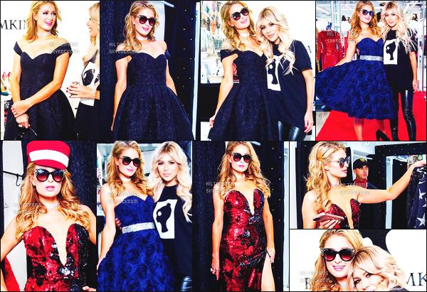 ------- 18/12/17: Merveilleuse  Paris Hilton   photographiée  essayant plein de belle robes avec Bella Potemkina  -   Moscou. Les robes sont tellement sublime, cela va tellement bien sur Paris Hilton. On dirait tellement une vraie princesse, j'adore cette robe rouge.   -------