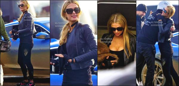 ------- 20/12/17: La jolie  Paris Hilton   photographiée dans la journée sur le tournage de The Grand Tour dans Londres.  C'est une tenue simple. Cela lui va tres bien à notre princesse Paris. Je suis tres fan.  J'adore assez, j'aime ses lunettes de soleil. Petit top. -------