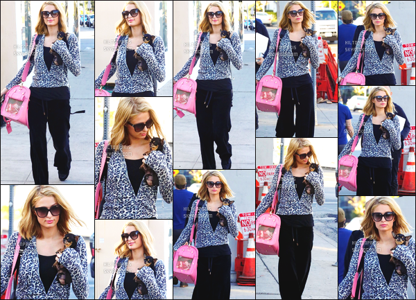 ------- 07/02/18: La princesse Paris Hilton photographiée entrain de faire du shopping dans la journée -   à Los Angeles.  La princesse Paris, elle est toute souriante sur les photos, ca fait plaisir de la voir si heureuse, mais gros flop pour la tenue, je n'aime pas.  -------