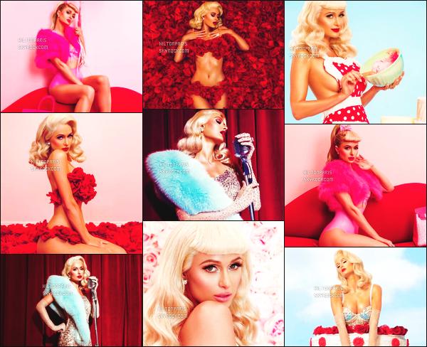 --------        •  Découvrez les photos pour la chanson de Paris Hilton      «  I Need You    » - Février 2017.     J'adore  beaucoup les photos elle fait tellement femme glamour et fatale, je suis tres fan.  J'adore tellement  la photo toute rose. Au   top.   --------