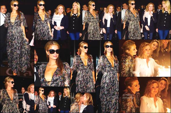 ------- 21/03/18:    Paris    photographiée   quittant un restaurant pour l'anniversaire de Kathy dans la soirée - Los Angeles.   (+) Aussi mlle Paris a éte photographiée dans la journée dans les rues de Los Angeles. Flop pour cette tenue. C'est vraiment trop horrible.    -------