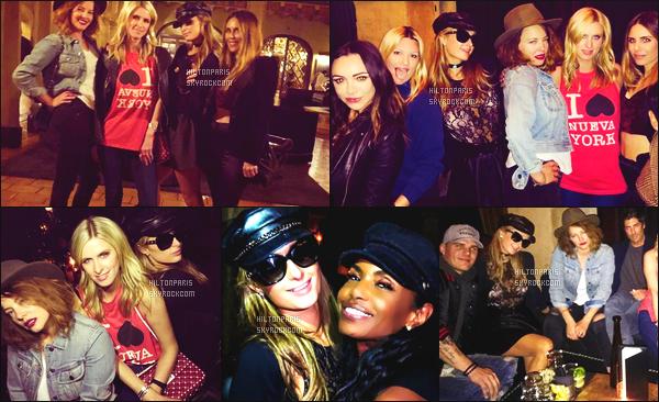"""--------------------------------------  """"""""RESEAUX SOCIAUX"""""""" Découvrez les dernières photos de mlle Paris toujours  actif sur Instagram ou Snapchat. Mars 2018 - Quelques photos de la princesse Paris Hilton accompagnée d'amies. Pour une soirée entre filles à Los Angeles. Top la tenue. --------------------------------------"""