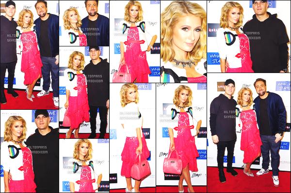 ------- 22/03/18:    Paris Hilton  photographiée    à l'avant premiére du film de  « What We Started  » dans la soirée - à Miami.   J'accorde un top pour Paris Hilton, j'adore beaucoup cette tenue. Je la trouve magnifique. La couleur rouge lui vont   bien, je suis tres  fan.     -------