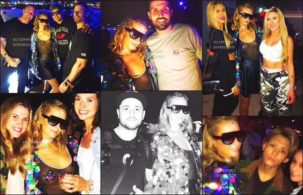 """--------------------------------------  """"""""RESEAUX SOCIAUX"""""""" Découvrez les dernières photos de mlle Paris toujours  actif sur Instagram ou Snapchat. Mars 2018 - Elle est toujours accompagnée de son petit ami Chris. Se festival se deroule à Miami. Je lui accorde un  top pour son haut. --------------------------------------"""