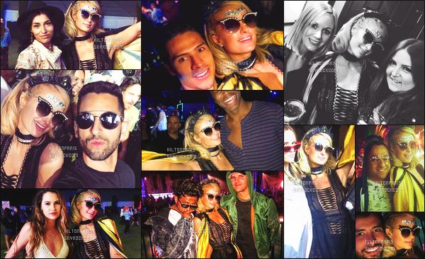 ------- 14/04/18: Notre sublime Paris Hilton  assistant 'avec Chris au grand festival 'de musique Coachella - Californie.  Se sont des photos avec des fans. Paris Hilton est trop adorable, j'adore beaucoup toutes les photos, elle est souriante et tres adorable. -------