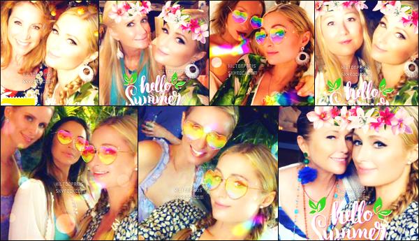 """--------------------------------------  """"""""RESEAUX SOCIAUX"""""""" Découvrez les dernières photos de mlle Paris toujours  actif sur Instagram ou Snapchat. Juillet 2018 -  Quelques photos de   jolie Paris Hilton   préparant le mariage de son frére à  St Barts. J'adore toutes les photos, elle est belle. --------------------------------------"""