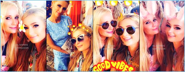"""--------------------------------------  """"""""RESEAUX SOCIAUX"""""""" Découvrez les dernières photos de mlle Paris toujours  actif sur Instagram ou Snapchat. Juillet 2018 -  Quelques photos de   jolie Paris Hilton   assistant au mariage de son frére à  St Barts. J'adore toutes les photos, elle est belle. --------------------------------------"""
